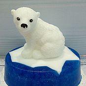 Косметика ручной работы handmade. Livemaster - original item Soap Polar friends. Handmade.