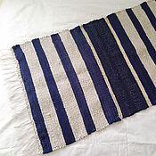 Для дома и интерьера ручной работы. Ярмарка Мастеров - ручная работа Домотканый половик коврик половичок. Handmade.