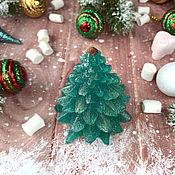 Косметика ручной работы handmade. Livemaster - original item Soap Christmas volumetric Christmas Tree snow covered. Handmade.
