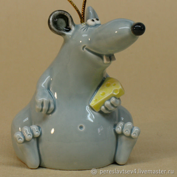 Крыса колокольчик. Крыса символ 2020 года, Колокольчики, Москва, Фото №1