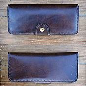 Сумки и аксессуары handmade. Livemaster - original item Leather clutch mod.Long Travel. Handmade.