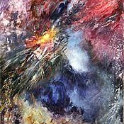Картины и панно ручной работы. Ярмарка Мастеров - ручная работа Абстракция. Взрыв Квазара. Handmade.