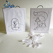 Для дома и интерьера ручной работы. Ярмарка Мастеров - ручная работа Постер Маленький принц Роза. Handmade.