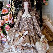Куклы и игрушки ручной работы. Ярмарка Мастеров - ручная работа Тильда кукла Амели Клейн. Handmade.
