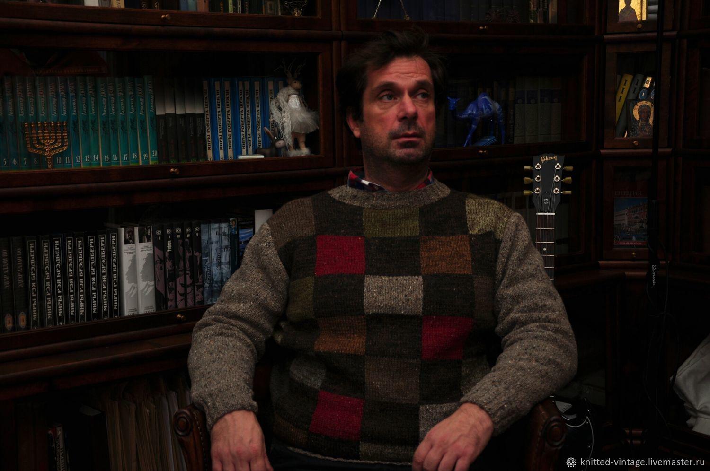 Мужской твидовый свитер – заказать на Ярмарке Мастеров – AUT4ZRU   Джемперы мужские, Санкт-Петербург