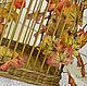 Клетка декоративная плетеная интерьерная Золотая осень, Подвески, Брянск,  Фото №1