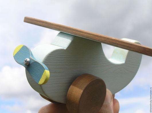 Техника ручной работы. Ярмарка Мастеров - ручная работа. Купить Деревянный Самолетик. Handmade. Игрушка, дерево