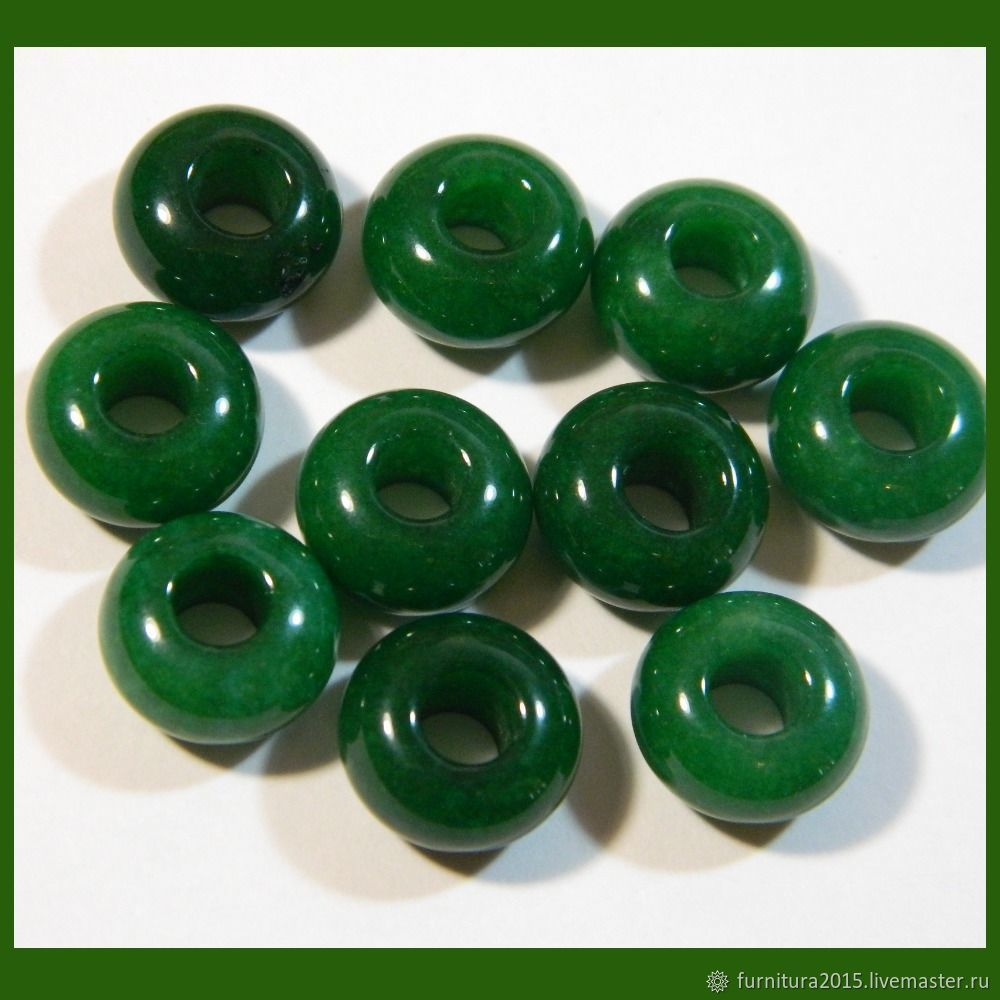 connectors: Green agate for jewelry. pcs, Connectors, Saratov,  Фото №1