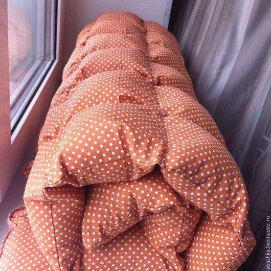 Пледы и одеяла ручной работы. Ярмарка Мастеров - ручная работа. Купить Воздушное одеялко для детской кроватки. Handmade. Коричневый, #воздушноеодеяло