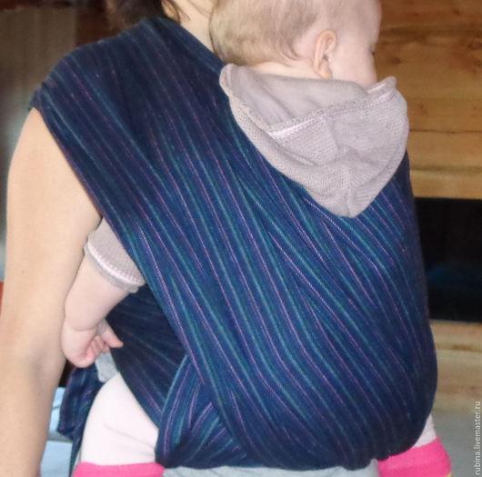 Слинг шарф из шерсти со льном за 1700р