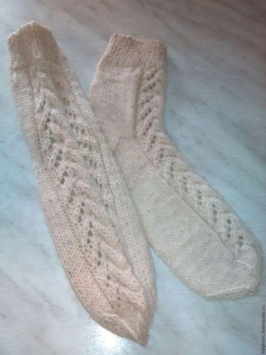 Носки, Чулки ручной работы. Ярмарка Мастеров - ручная работа. Купить шерстяные носки. Handmade. Серый