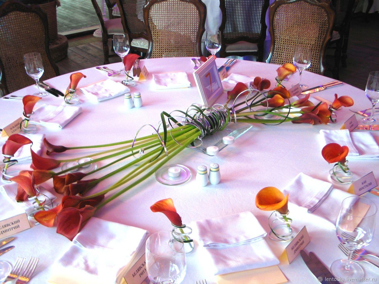 Свадебные цветы ручной работы. Ярмарка Мастеров - ручная работа. Купить Оформление Свадьбы, Юбилея. Живые цветы. Профессиональная флористика. Handmade.