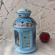 Для дома и интерьера handmade. Livemaster - original item Lantern candle