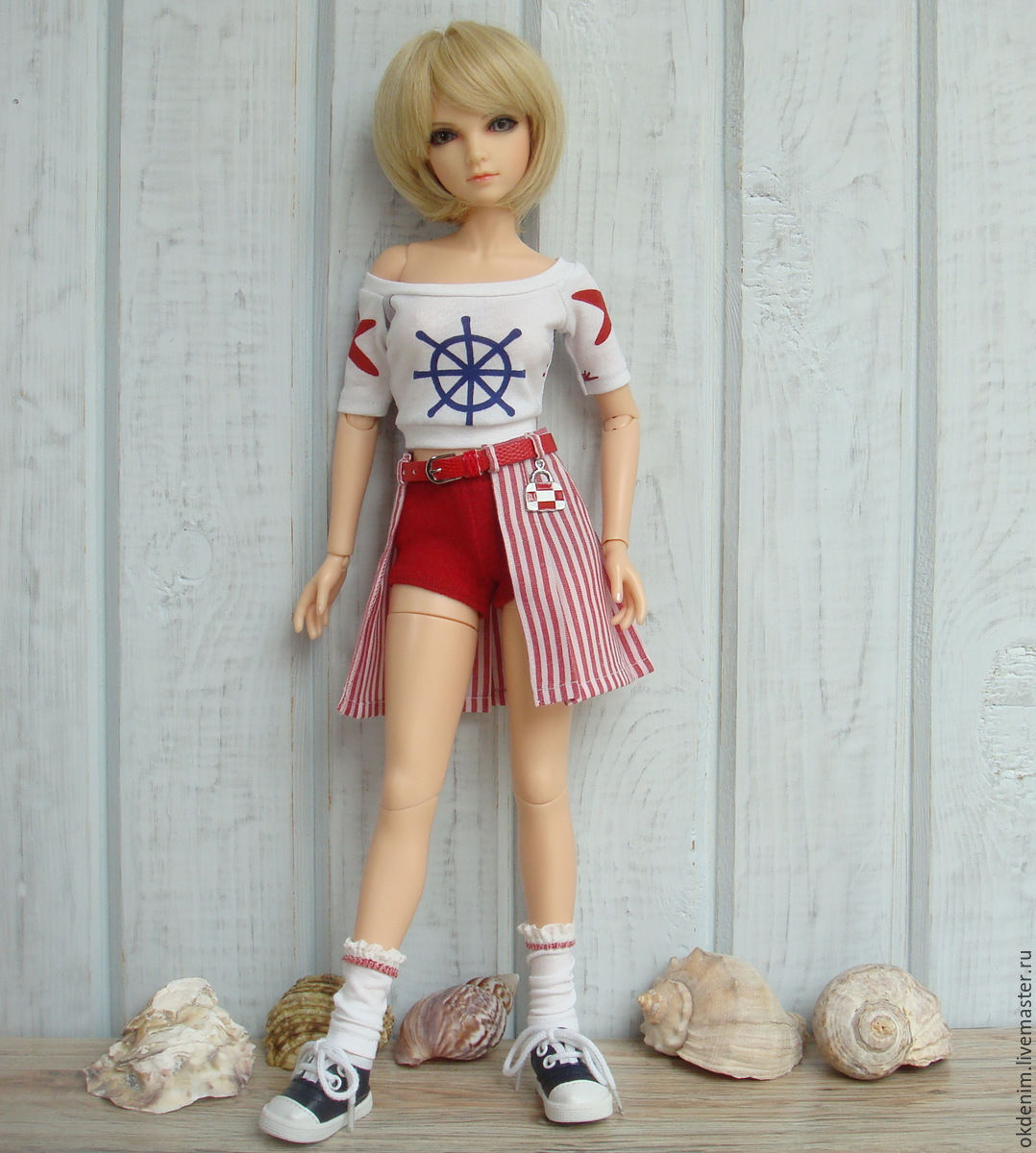 Как сшить шорты для кукол барби