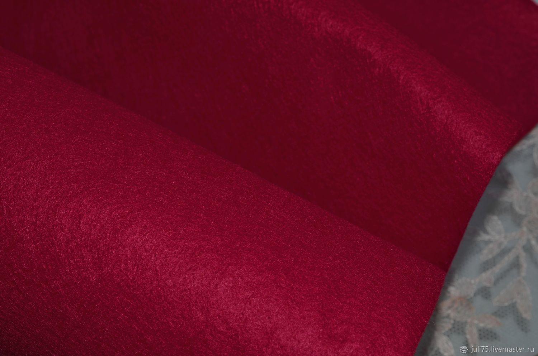 Вышивка ручной работы. Ярмарка Мастеров - ручная работа. Купить Фетр вискозный 1 мм, Германия. Handmade. Фетр