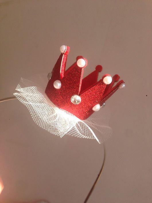 Детская бижутерия ручной работы. Ярмарка Мастеров - ручная работа. Купить Корона. Handmade. Корона, праздничное украшение, корона