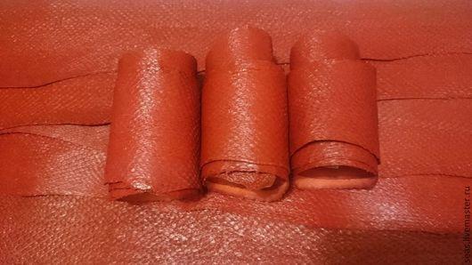 Шитье ручной работы. Ярмарка Мастеров - ручная работа. Купить КОЖА СЕМГИ- красный. Handmade. Натуральная кожа, кожа для сумок