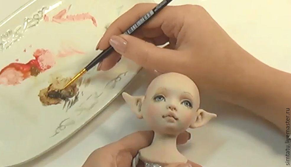 Мастер класс как сделать куклу из пластики своими руками мастер классы 935