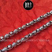 """Украшения handmade. Livemaster - original item Цепь """"Бусы ПерунА"""" серебро 925пр.. Handmade."""