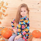 Одежда ручной работы. Ярмарка Мастеров - ручная работа Платье осень. Handmade.