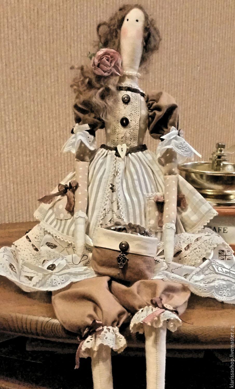 тильда кофейная Капучинка, Куклы Тильды, Москва, Фото №1