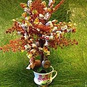 Сувениры и подарки ручной работы. Ярмарка Мастеров - ручная работа Конфетное дерево АЛИСА В СТРАНЕ ЧУДЕС. Handmade.