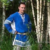 Русский стиль handmade. Livemaster - original item shirt linen celtic