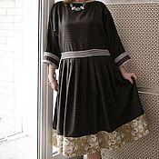 """Одежда ручной работы. Ярмарка Мастеров - ручная работа Бохо-платье """"Контрданс"""". Handmade."""