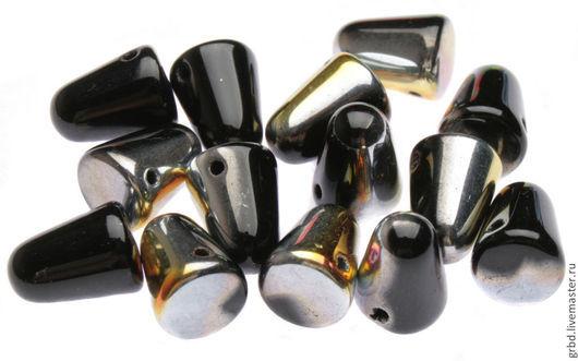 Для украшений ручной работы. Ярмарка Мастеров - ручная работа. Купить Чешские бусины Gum Drops 7,5x10мм MR23980. Handmade.