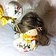 Человечки ручной работы. Цветочная фея. ELENA FEDULOVA Текстильные куклы. Интернет-магазин Ярмарка Мастеров. Тильда кукла, Декор