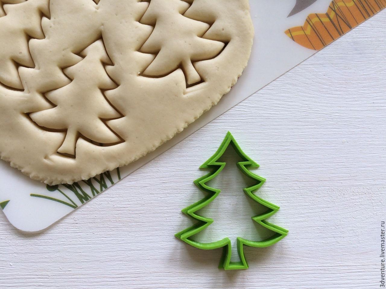 Форма для новогоднего печенья своими руками