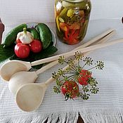 Ложки ручной работы. Ярмарка Мастеров - ручная работа Деревянная ложка для солений. Handmade.