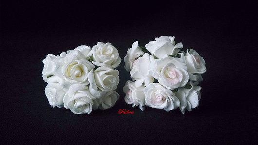 Другие виды рукоделия ручной работы. Ярмарка Мастеров - ручная работа. Купить Розы из латекса с глиттером ЦЛ9. Handmade.