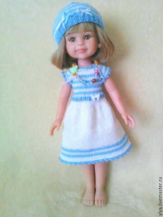"""Одежда для кукол ручной работы. Ярмарка Мастеров - ручная работа. Купить Комплект одежды """"Морячка"""" для куклы Паола Рейн.. Handmade."""