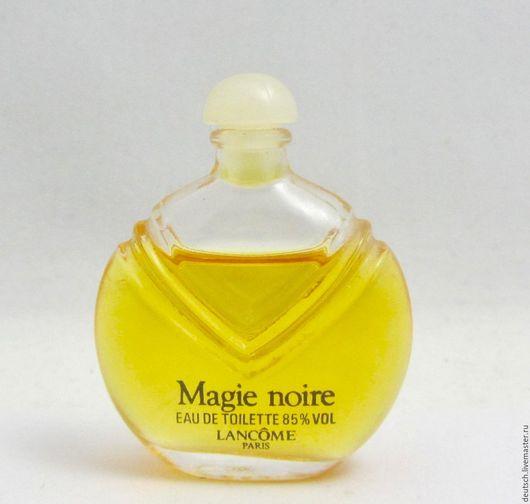 Винтажные предметы интерьера. Ярмарка Мастеров - ручная работа. Купить Magie Noire Lancome 7,5 ml  едт винтажный парфюм миниатюра бронь. Handmade.