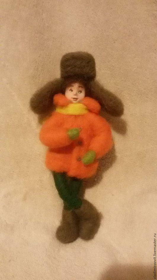 Сказочные персонажи ручной работы. Ярмарка Мастеров - ручная работа. Купить Мальчик Роберт. Handmade. Рыжий, зеленый, кукла