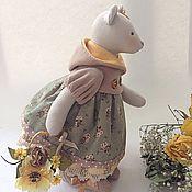 Куклы и игрушки ручной работы. Ярмарка Мастеров - ручная работа Юки мышка осенняя. Handmade.