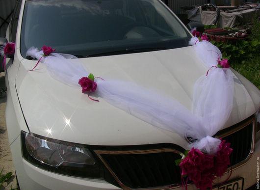 Украшение на свадебную машину. 800 руб