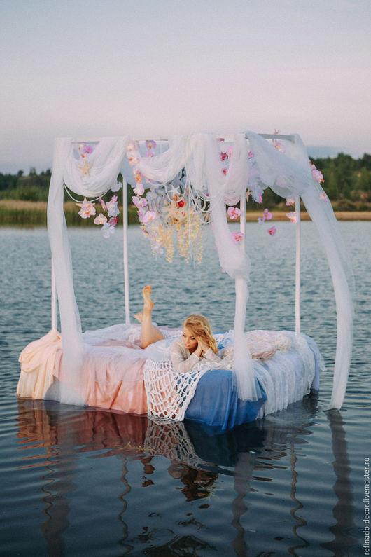 Свадебные аксессуары ручной работы. Ярмарка Мастеров - ручная работа. Купить Морская свадьба. Handmade. Выездная регистрация, утро невесты