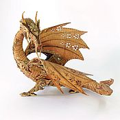 Сувениры и подарки handmade. Livemaster - original item Dragon from clay. Dragon gift. Expensive gift for the holiday. Handmade.