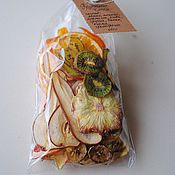 Подарки к праздникам ручной работы. Ярмарка Мастеров - ручная работа Фруктовые Чипсы в наборе. Handmade.