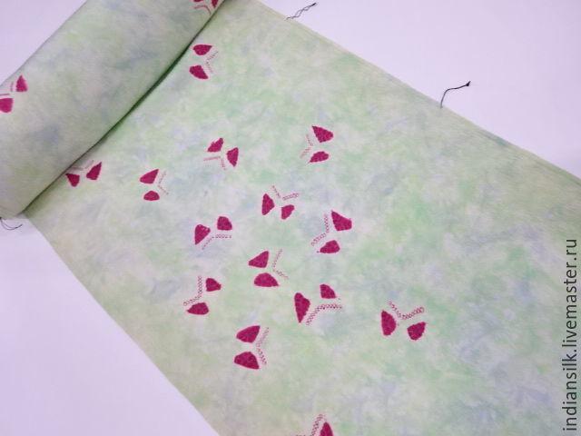 Шитье ручной работы. Ярмарка Мастеров - ручная работа. Купить Антикварный японский шелк 60х гг фактурный с выработкой. Handmade.