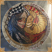 "Подарки к праздникам handmade. Livemaster - original item Interior-plate panels ""Venetian masks"". Handmade."