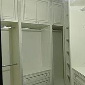 Для дома и интерьера ручной работы. Ярмарка Мастеров - ручная работа белая классическая гардеробная с серебром. Handmade.
