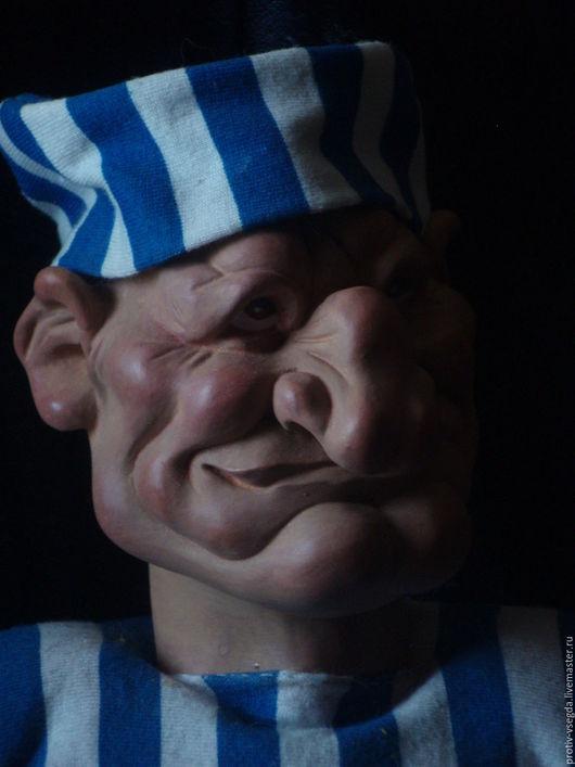 Коллекционные куклы ручной работы. Ярмарка Мастеров - ручная работа. Купить ЗК. Handmade. Чёрно-белый, кукла ручной работы