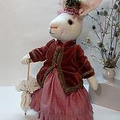 """Мягкие игрушки ручной работы. Ярмарка Мастеров - ручная работа Текстильная кукла """"миссис Кроуль"""". Handmade."""