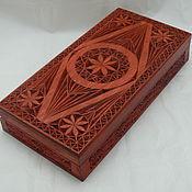Для дома и интерьера ручной работы. Ярмарка Мастеров - ручная работа Купюрница деревянная. Handmade.