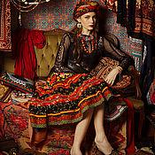 """Одежда ручной работы. Ярмарка Мастеров - ручная работа """"Чешская Богемия"""". Коллекция """"Gypsy Queen"""". Handmade."""