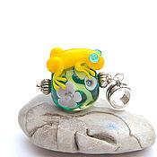 Украшения handmade. Livemaster - original item The glass frog
