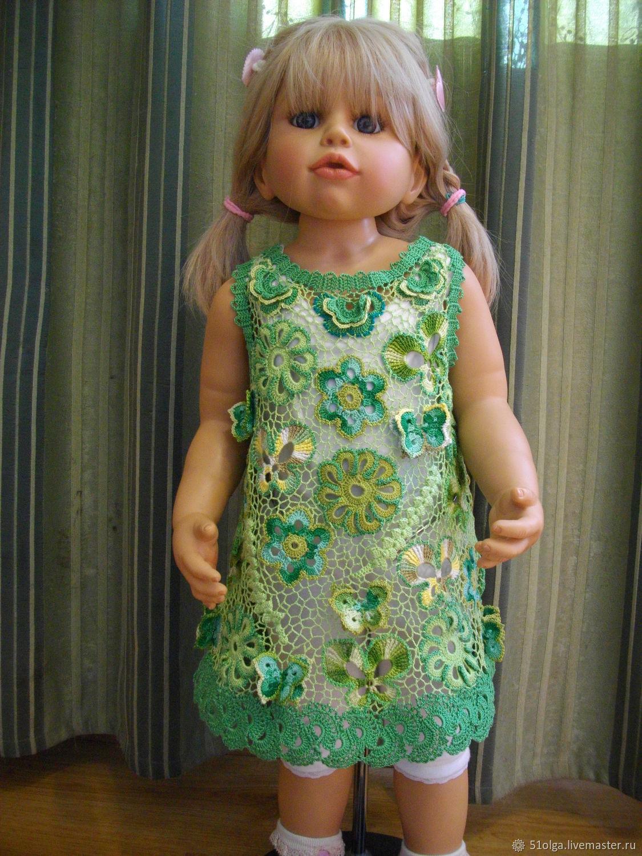 Платье в технике ирландское кружево